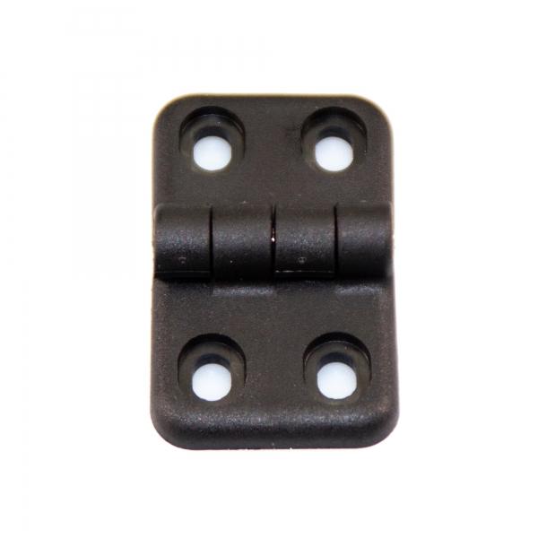 Anschraubscharnier aus Kunststoff 65 x 40 mm M5 - 180°